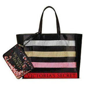 Victorias Secret valentines Satchel Sequins Tote